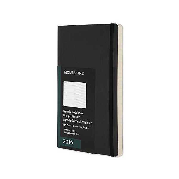 "Moleskine 2016 Weekly Pocket Notebook  3.5"" x 5.5"""