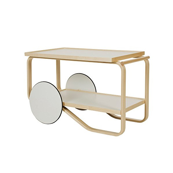 Artek 901 Tea Trolley - White