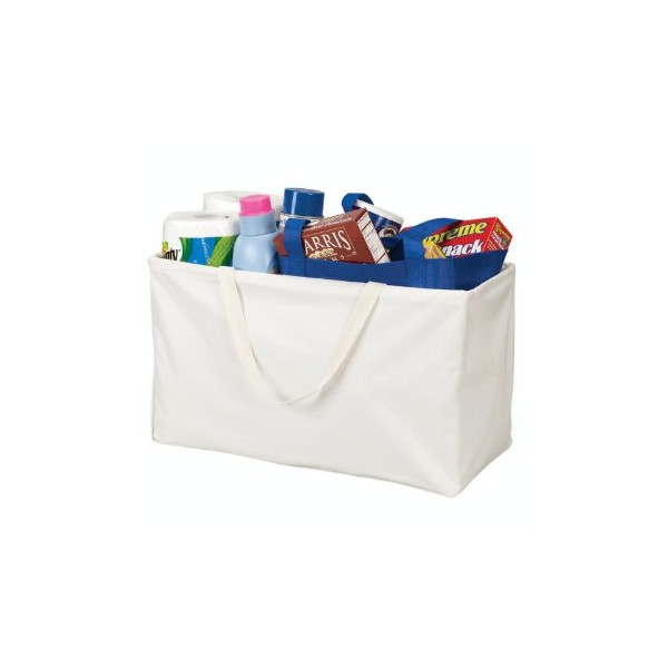 Household Essentials Large Rectangular Krush Canvas Tote Bag