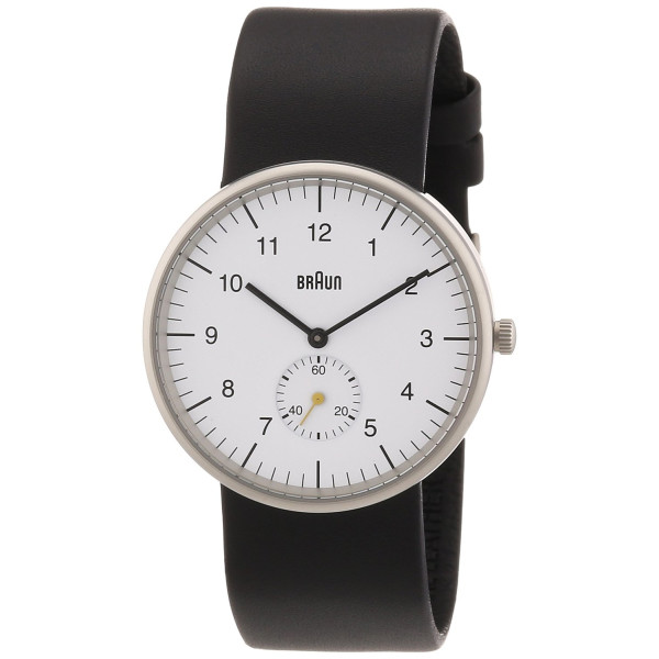 Braun Men's Classic Analog Display Quartz Black Watch