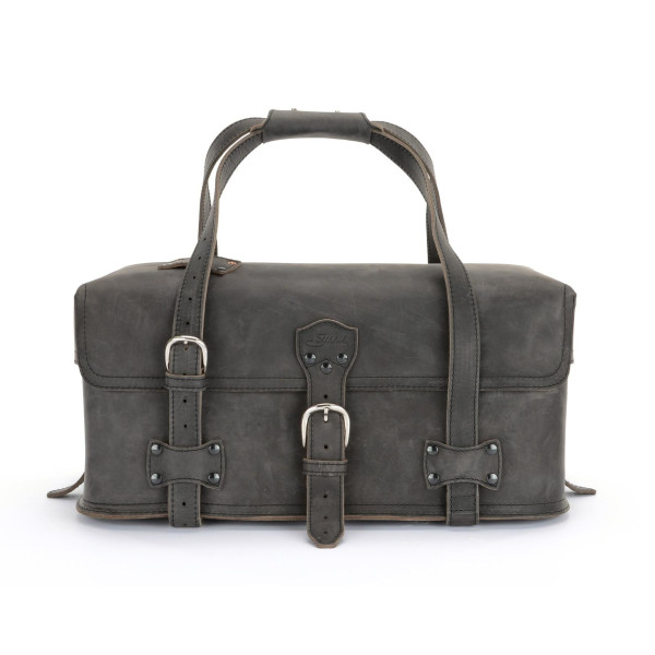 Saddleback Leather Medium Utility Duffel, Carbon