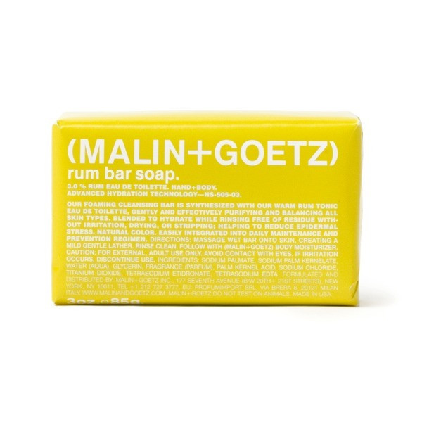 Malin + Goetz Bar Soap, Rum