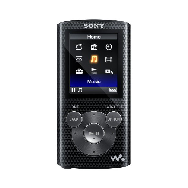 Sony NWZE385 16 GB Walkman MP3 Video Player (Black)