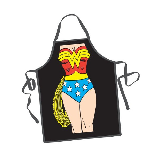 DC Comics Wonder Woman Character Apron, Garden, Lawn, Maintenance