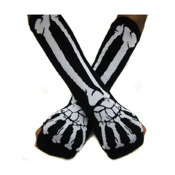 Skeleton Arm Warmer Glove