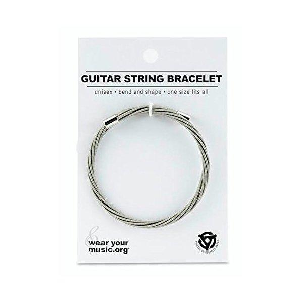 Guitar String Bracelet - Simply Silver