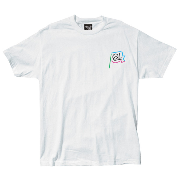 Quiet Life: Flagpole Shirt - White