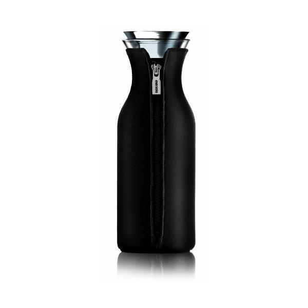 Eva Solo 1.0 Litre Fridge Carafe with Neoprene Cover, Black