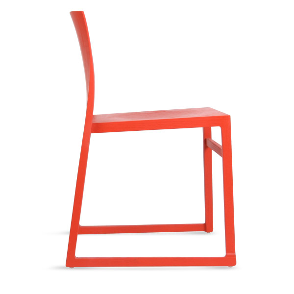 Osidea Hanna Sled Chair, Red
