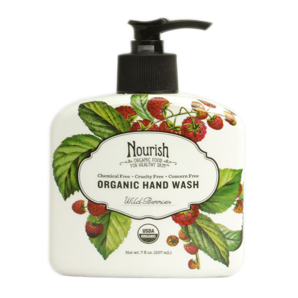 Nourish Organic Nourish Handwash Wildberry, 7oz
