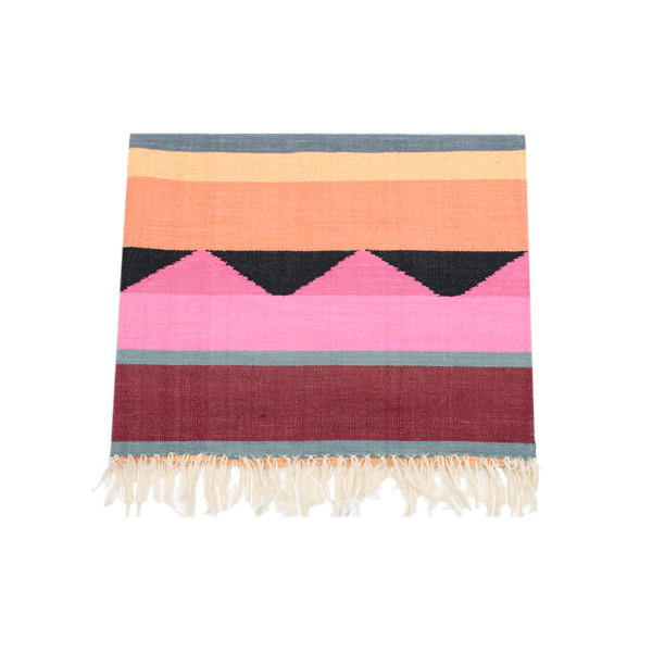 Handmade Woven Sorbet Striped Rug 3' x 5'