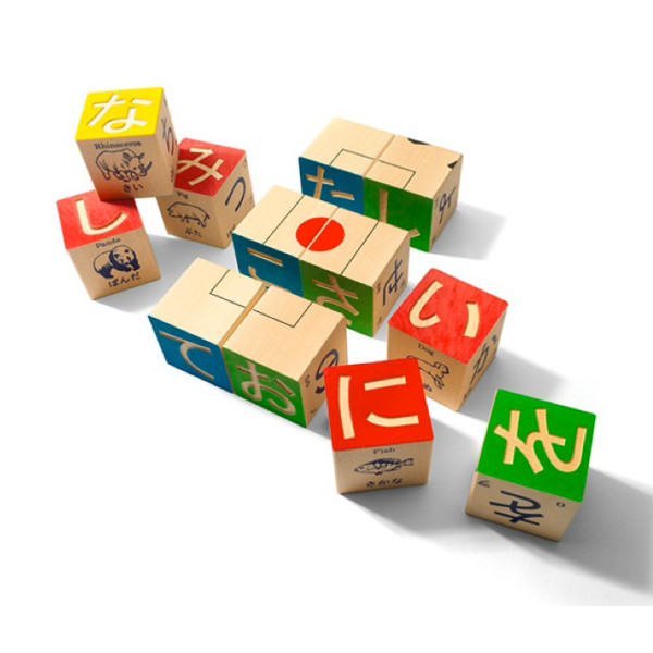 Uncle Goose Japanese Character Blocks, 32 pieces