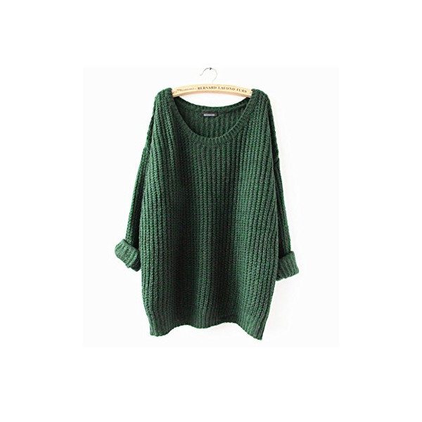 ARJOSA women pullovers sweater (#2 Green)