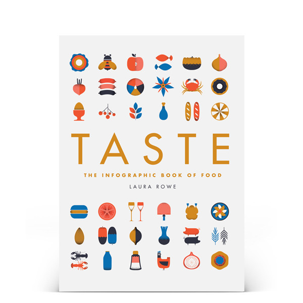 Taste: The Infographic Book of Food