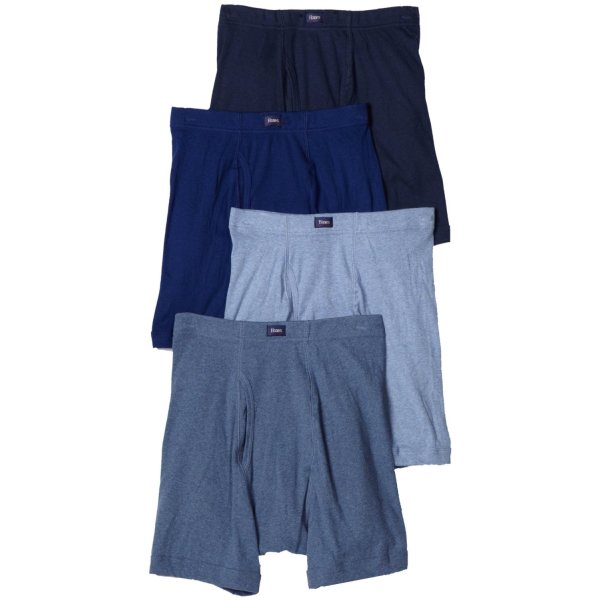 Hanes Men's 4-Pack Classics ComfortSoft Waistband Boxer Brief (Colors May Vary)