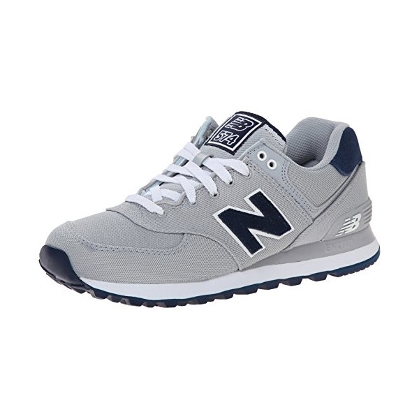 New Balance Men's ML574 Pique Polo Pack Classic Running Shoe, Grey, 10.5 D US