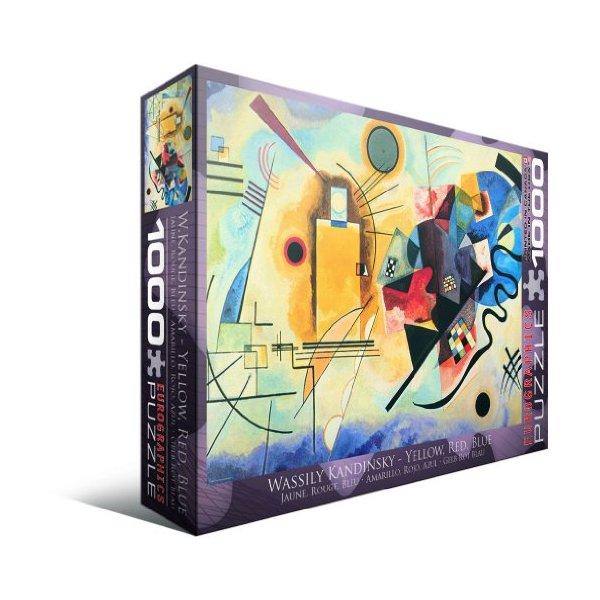 Gelb Rot Blau by Kandinsky 1000-Piece Puzzle