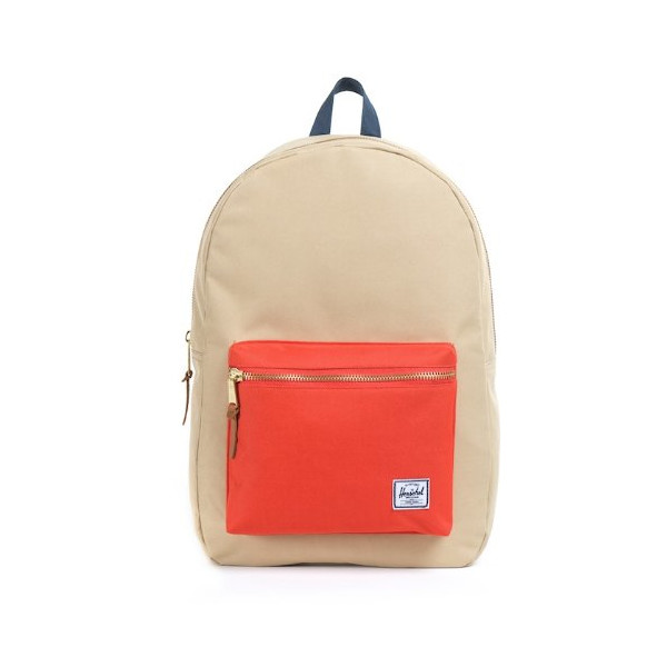 Herschel Supply Co. Settlement, Khaki/Orange/Navy