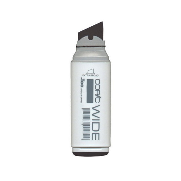 Copic Wide Marker with Replaceable Nib, Black