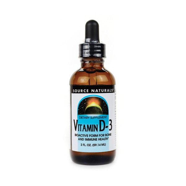 Source Naturals Vitamin D-3 Liquid