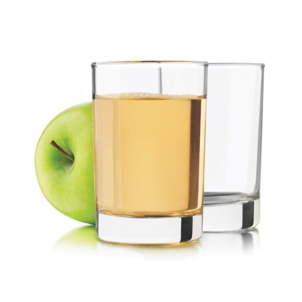 Libbey 5.5 -Ounce Heavy Base Juice Glass, Set of 4