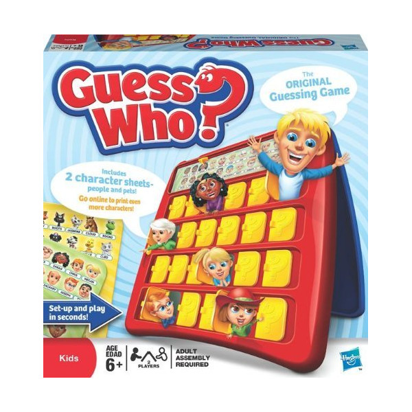 Hasbro 05801 Guess Who