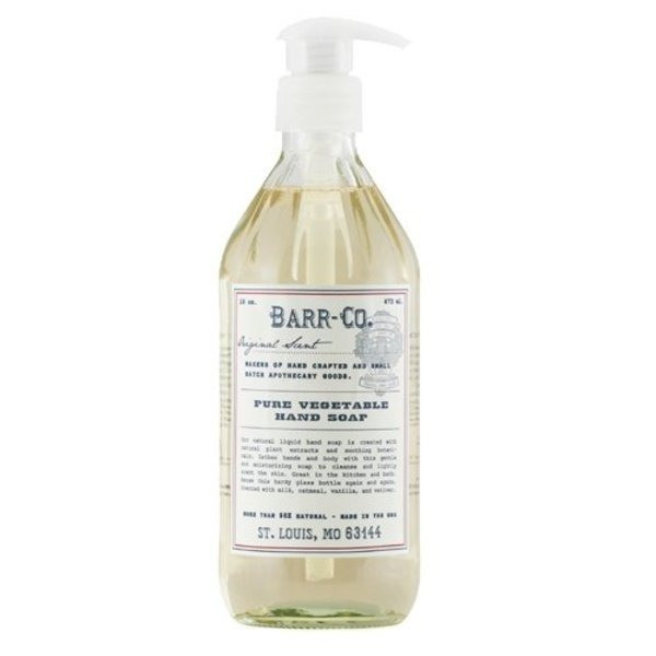 Barr Co Pure Vegetable Hand Soap 16 oz