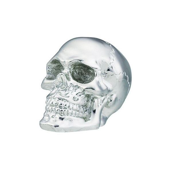 "Shift Knobs - Chrome Skull Shift Knob - Cold Cast Resin - 2.5"" Height"