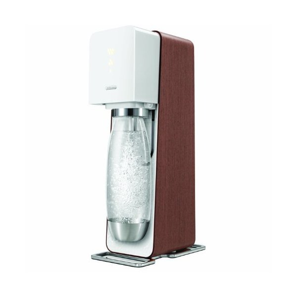 SodaStream Source Starter Kit, White/Dark Wood