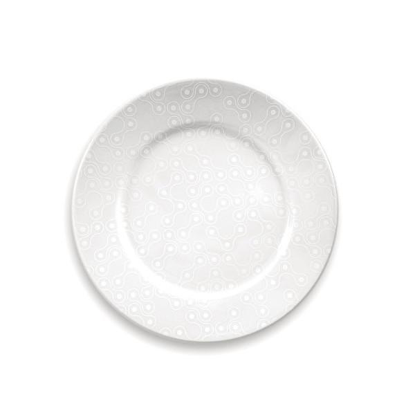 White Links Dinner Plate Set