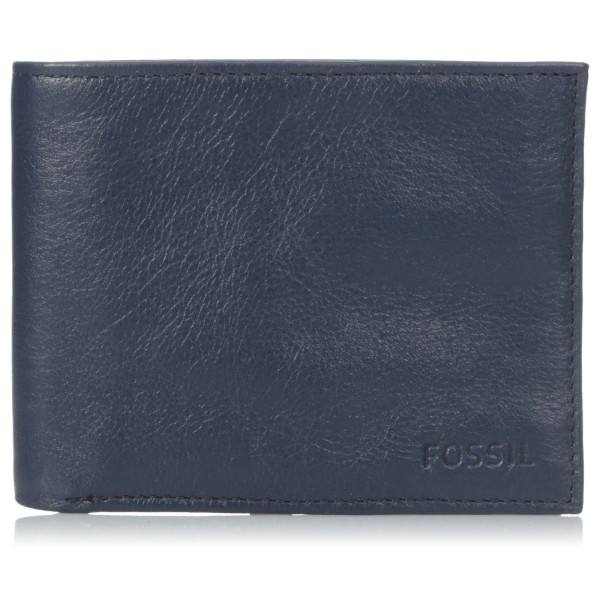 Fossil Men's Truman Bifold, Navy, One Size
