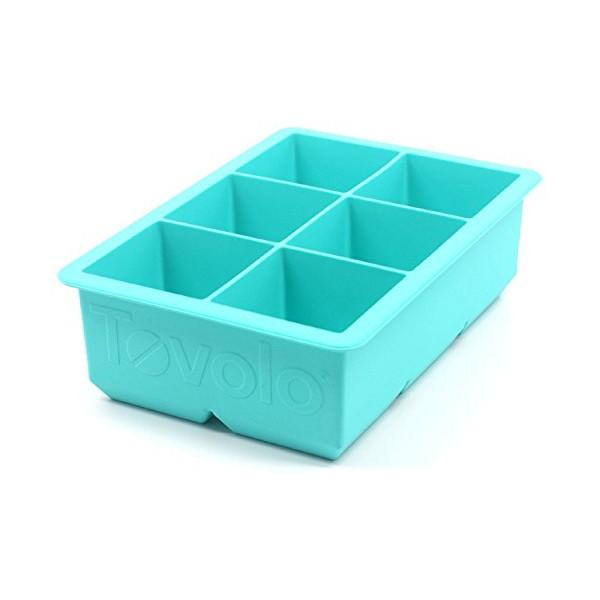Tovolo King Cube Ice Trays, Robin Egg Blue