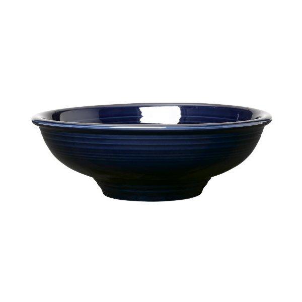 Fiesta 64-Ounce Pedestal Bowl, Cobalt