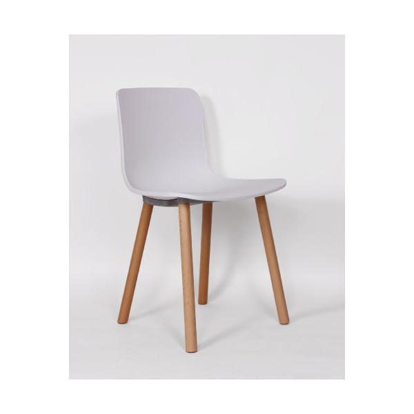 Control Brand Mid-Century-Inspired Axa Side Chair, White