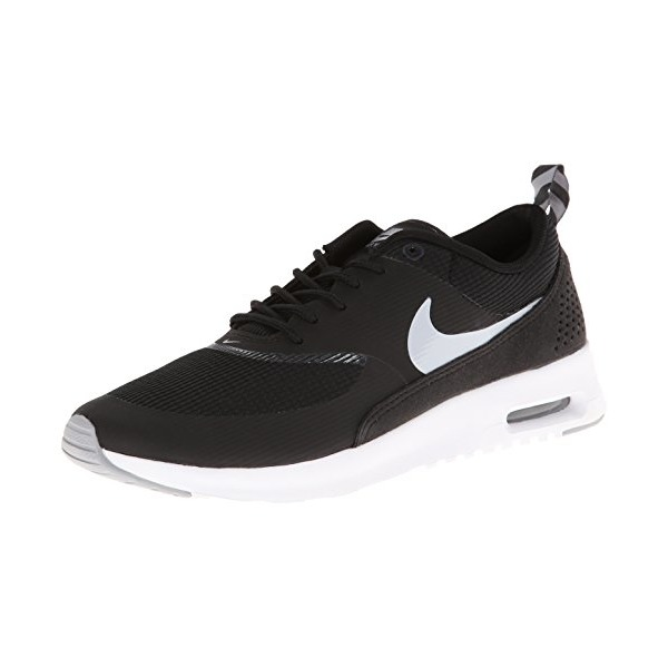 Nike Women's Air Max Thea Black/Wolf Grey/Anthrct/White Running Shoe 8 Women US