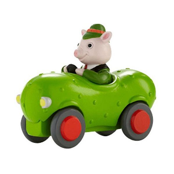 Richard Scarry Busytown Mr. Frumble in Pickle Car