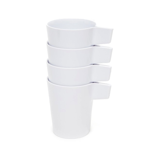 Areaware Avion Cups White, Set of 4