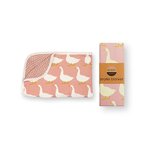 Milkbarn Stroller Baby Blanket (Goose)