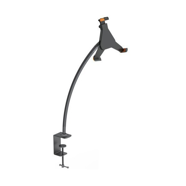 VonHaus Gooseneck Bracket with Desk Clamp Mount for iPad Tablet Android