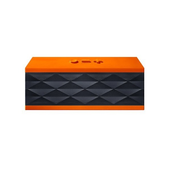 Jawbone JAMBOX Wireless Bluetooth Speaker - (Certified Refurbished) (Graphite Orange)