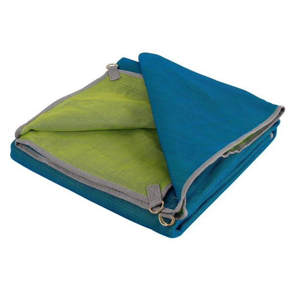 CGear Sand-Free Multimat (Blue/Lime, 6 x 6-Feet)