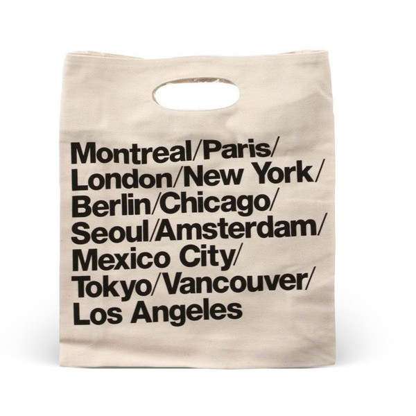 American Apparel Bull Denim Woven Cotton Cities Bag