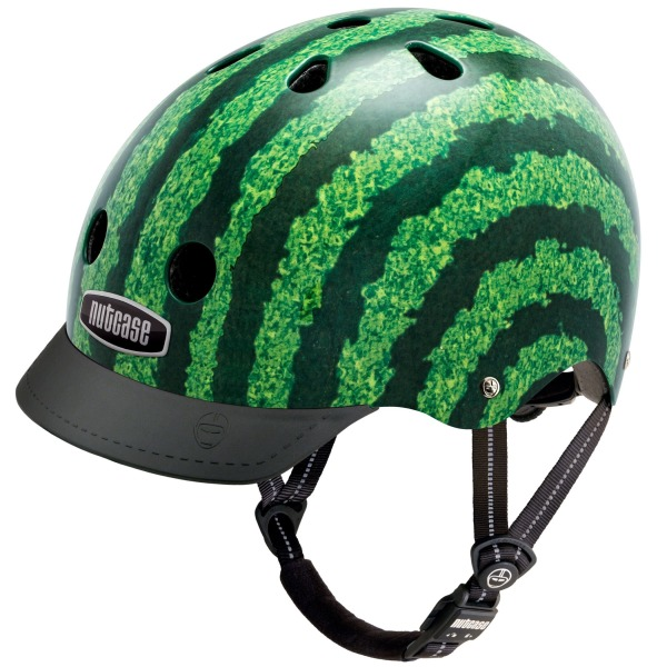 Nutcase - Street Bike Helmet, Fits Your Head, Suits Your Soul - Watermelon, Medium