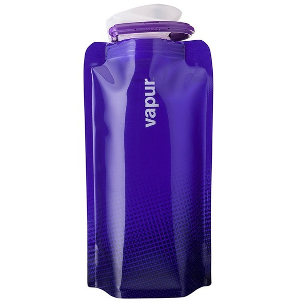 Vapur Shades Collapsible Water Bottle, Purple, 18oz