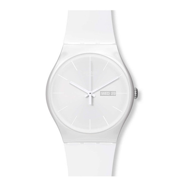 Swatch Originals White Rebel Watch