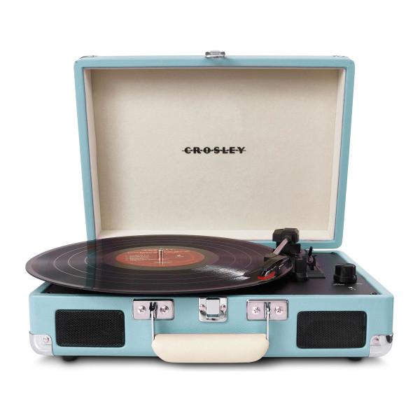 Crosley Cruiser Portable Turntable, Turquoise