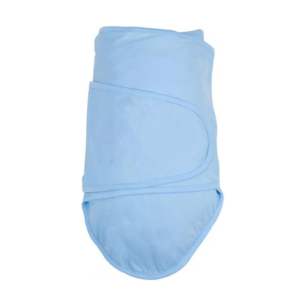 Miracle Blanket Baby Swaddle Blanket, Blue