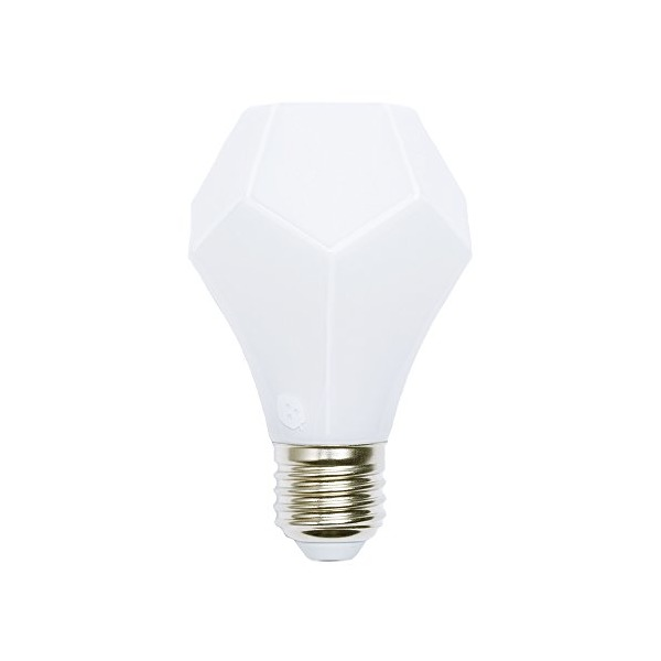 Nanoleaf NL05-0470FD120E26-2700K Gem, Beauty that Lasts Decor Light Bulb, Frosted