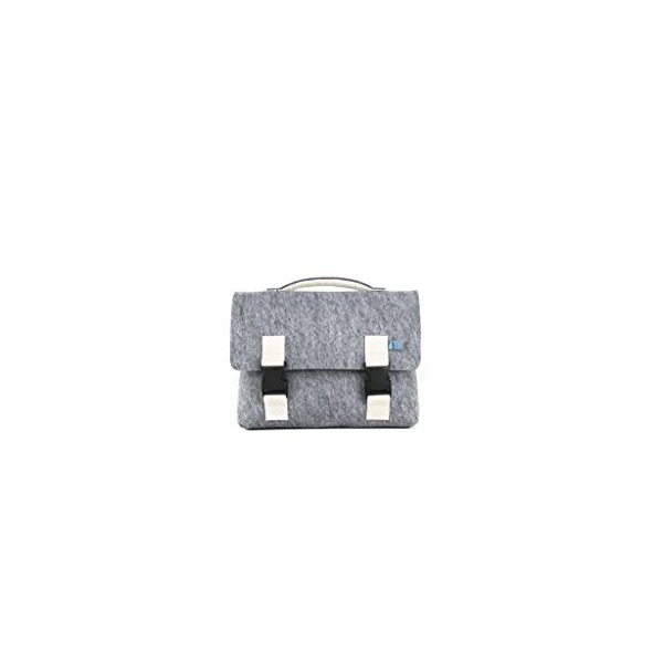 Mad Rabbit Kicking Tiger Kel Mini, Elephant Grey/White, One Size