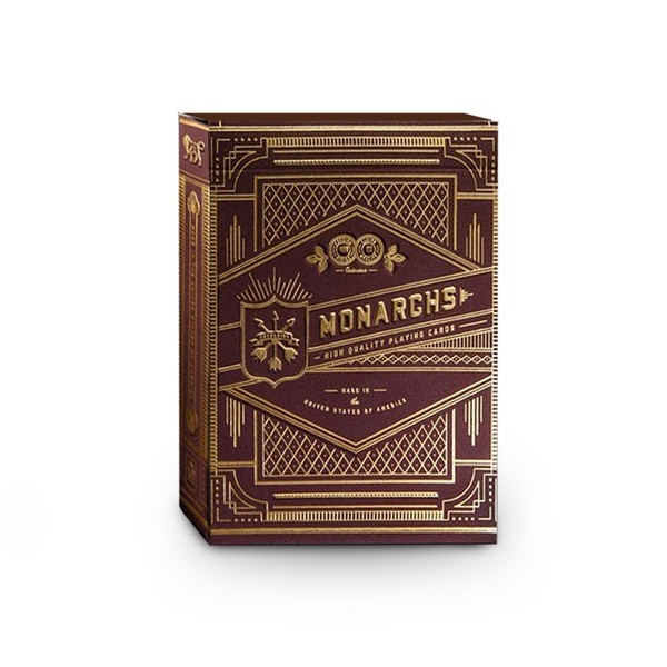 Red Monarchs Premium Bicycle Playing Cards
